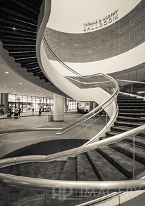 Stairs at the Georgia World Congress Center