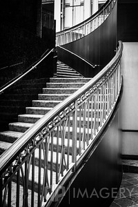 Stairs in B&W