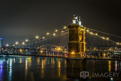 John Roebling Bridge - Night