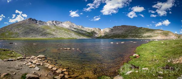 Panorama - Summit Lake