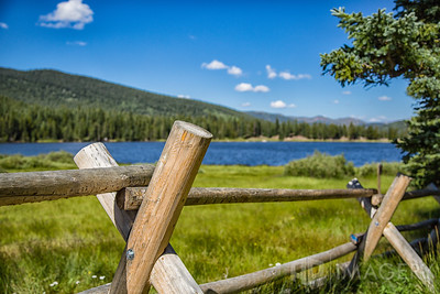 Fence At Echo Lake