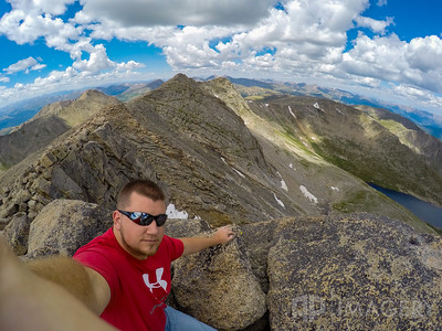 Mt Evans Summit Selfie