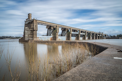 Long Exposure - Newburgh Lock & Dam