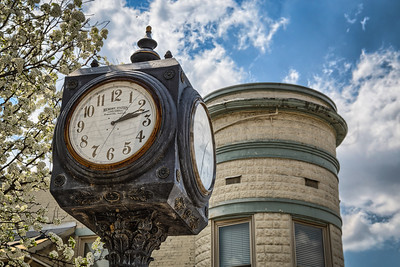 Newburgh Street Clock