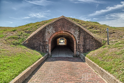 Fort Morgan - Entrance Tunnel