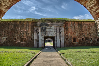 Fort Morgan - Entrance