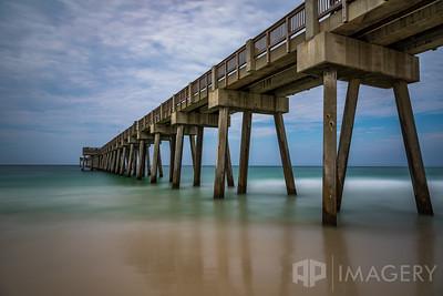 Panama City Beach Pier - Long Exposure
