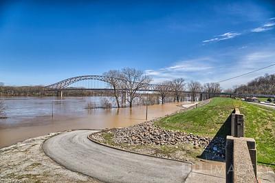 Hawesville Levee & Bridge
