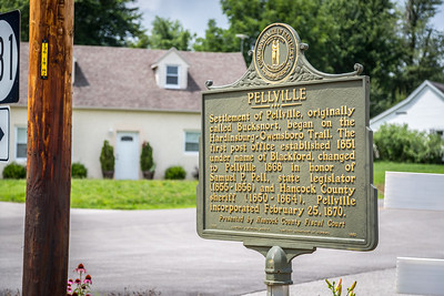 Pellville Historical Plaque