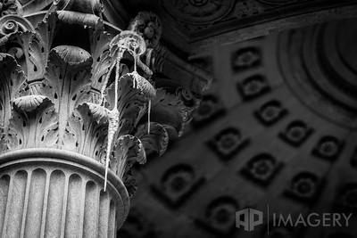 Limestone Column Stalactites