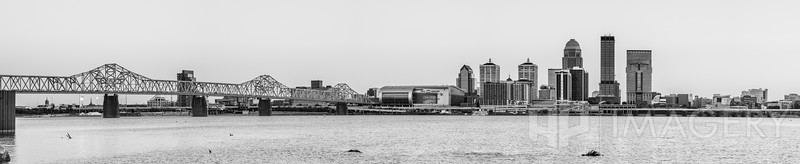 Louisville Skyline - B&W