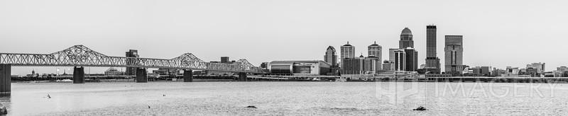 Louisville Skyline - B&W