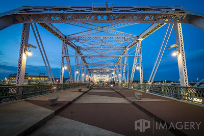Downtown Nashville - Pedestrian Bridge