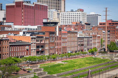 Historic Buildings Overlooking River