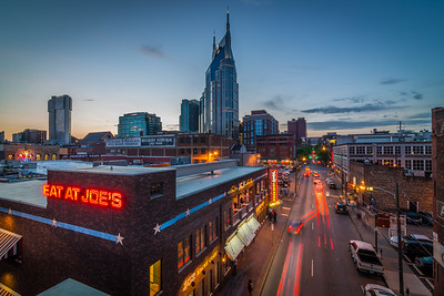 Downtown Nashville Streets