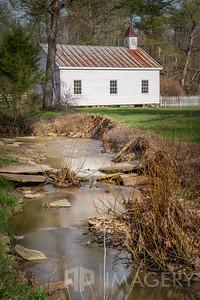 Pine Knob - Creek and Church