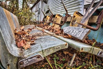 Abandoned - Bowling Seats
