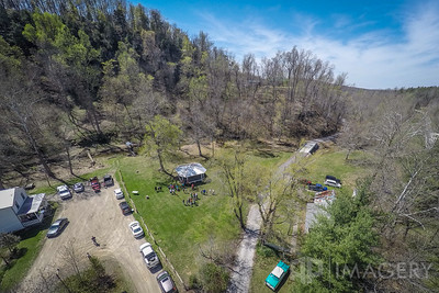 Aerial - Pine Knob Hike Day