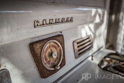 Old Kenmore Cooktop