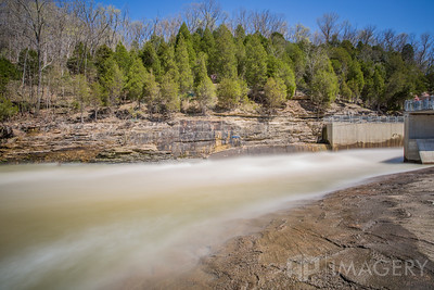 Rough River Dam - Discharge