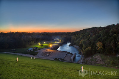 Rough River Dam - Sunset