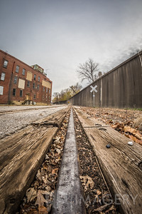 Railroad Tracks Through Tell City