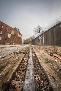 Railroad Tracks Through Tell City