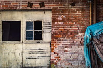 Door and Brick