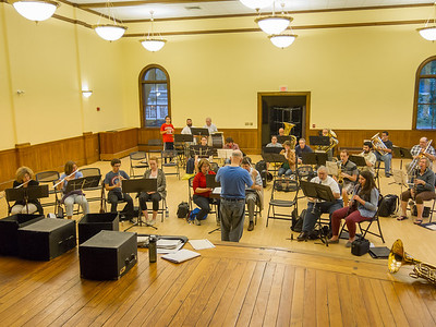 Marion Concert Band rehearsal - 9 July 2014