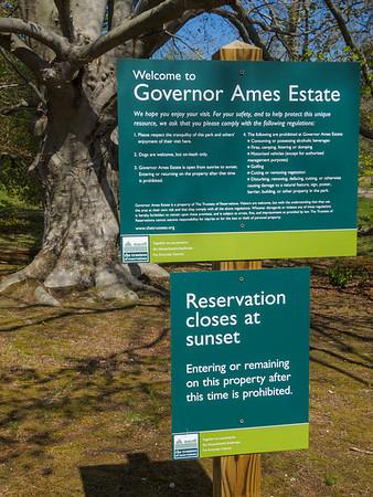 North Easton - Gov Ames Estate - 29 Apr 2013