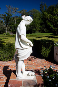 Statuary at Afton Villa Gardens St. Francisville, La. October, 2009
