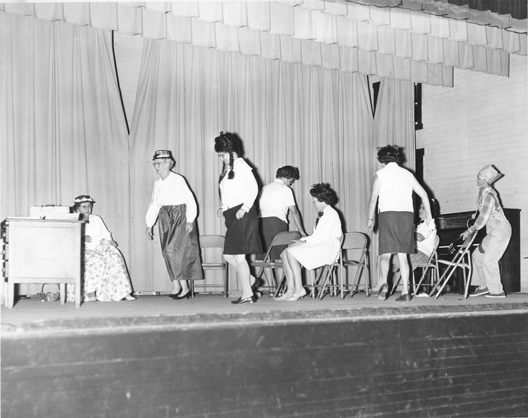 """One Day at School""  Alapaha Lions Entertainment, April 1967"