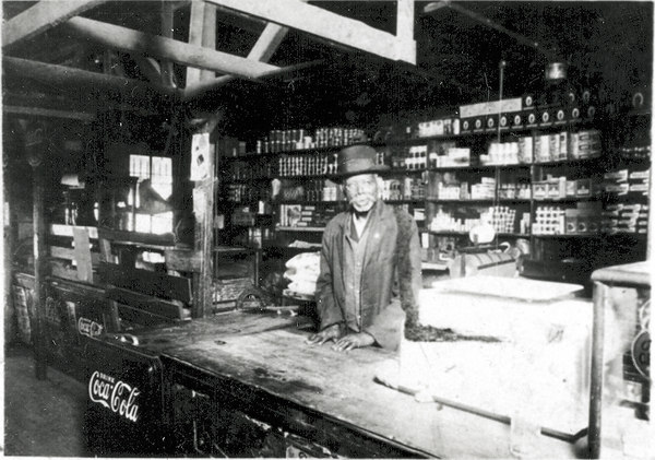 Nathan Bridges Store in the 1940s