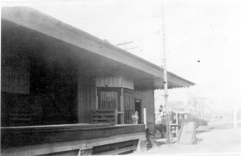 Alapaha Railway Depot.