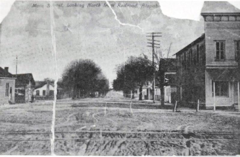 North on Main Street