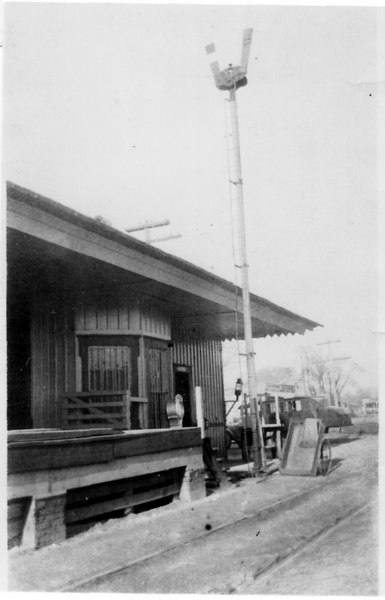 Alapaha Railway Depot about 1920s.