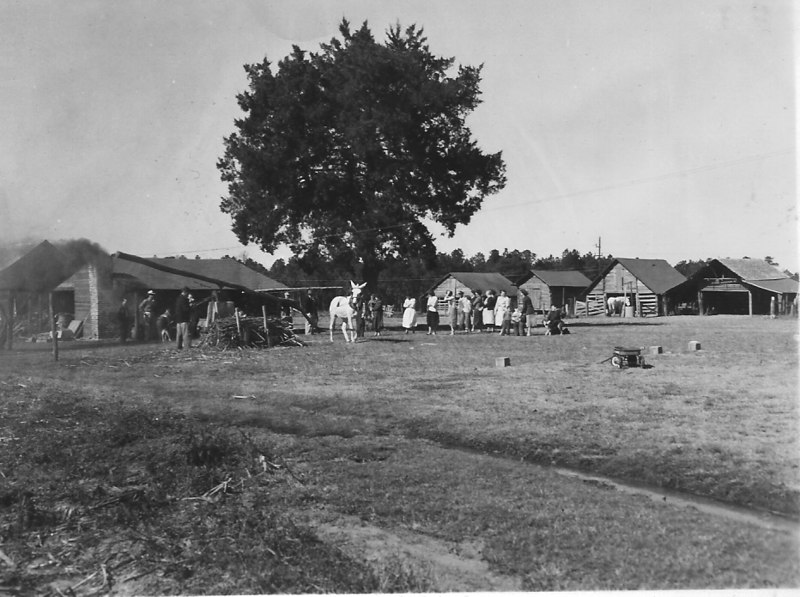 Vernon Harnage Farm - November 1956 - Cottle Community