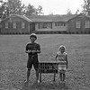 Utopia Yard of the Month, September 1972. Home of Mr. and Mrs. J.W. Hendley and their children Jim and Christi shown here, on N. Chrsti Drive.