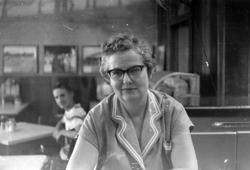 Mrs Christie Brogdon 1954