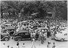 1940s town square scene - Wheeler for Congress