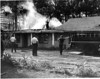Maluda Motor Court Fire, probably circa 1960s - 70's