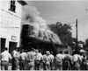 Harry's Cleaners Fire, next to Nashville Herald Building, May 24, 1951. (Courtesy: Skeeter Parker)