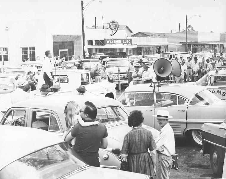 1960s Town Square Scene - Adams campaign