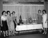 Gathering at W W and Ruby Gaskins Turner Home, March 24 1964.<br /> Left to right: Marion Kruger Levin, Evelyn Guthrie Gaskins Dorsey, Jean Hughes, Ruth Giddens Perkins, Linda Akins Butler, Clara Price.