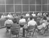First City Council  Meeting in New City Hall Building<br /> <br /> The Berrien Press, front page, June 17, 1971<br /> THE FIRST – The first regular session of the mayor and council was held Monday night in the council chambers of the new city hall complex in Nashville.  In attendance was an overflow crowd of interested citizens, shown in the foreground.  With mayor Bobby Carroll and city clerk Deane Alexander in the center, left to right are the aldermen:  H.D. Hand, T.A. Hall, Max Murphy, P.A. Harris Sr., Hanson Carter and Toby Griner.