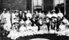 Nashville Woman's Club 'shower' circa 1915.