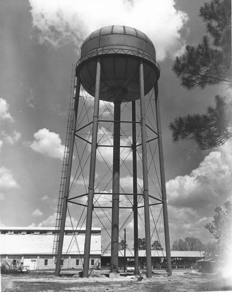 Water Tower on East Marion Avenue, April 1967