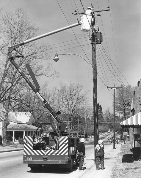 Georgia Power workers, March 1966