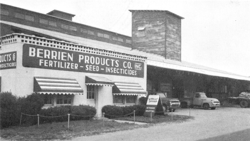 Berrien Products Company 1969 - from BHS yearbook