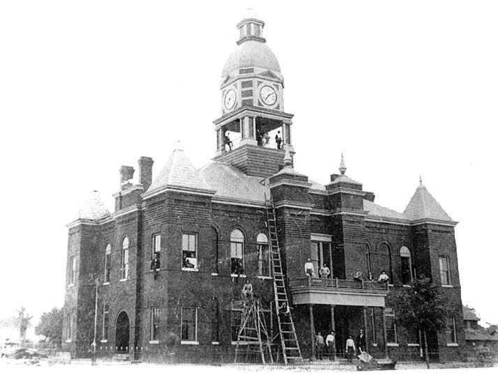 County Courthouse built circa 1898